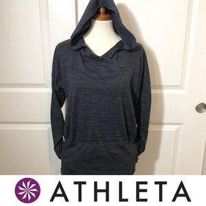 Athleta Hooded Pullover Top with Pockets
